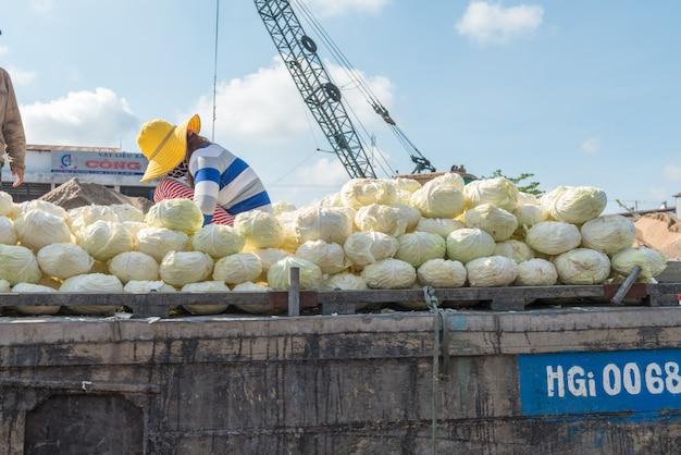 Mekong mercado flotante