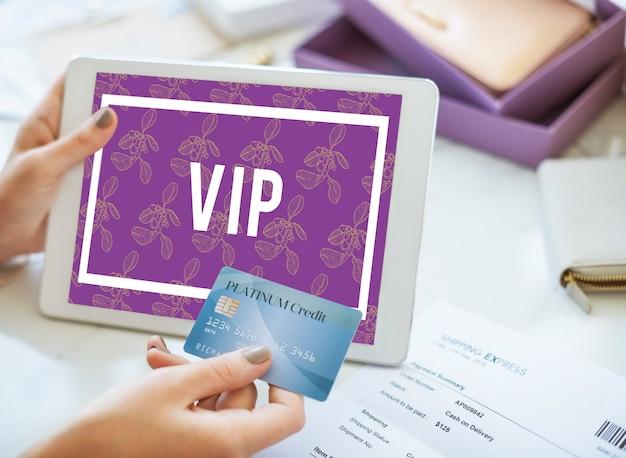 Membresía vip suprema superior de primera categoría