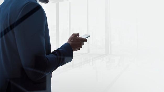 Mensajes de texto de empresario