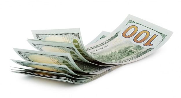 Mentir unos sobre otros billetes de cien dólares