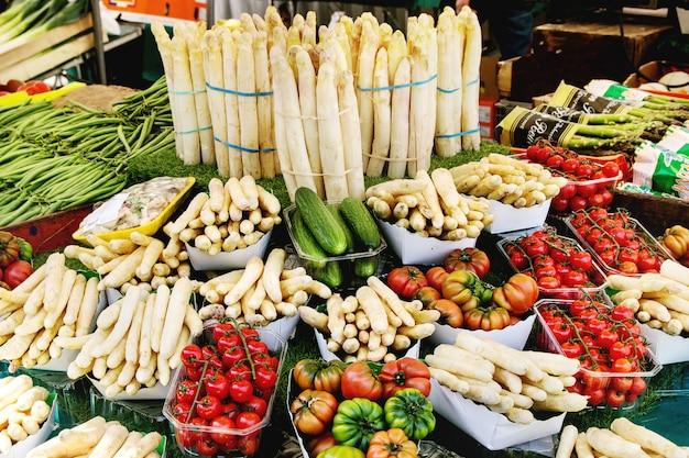 Mercado de agricultores parisinos