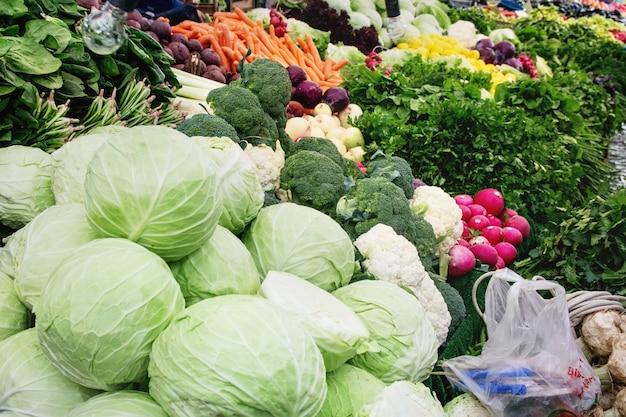 Mercado de agricultores turcos