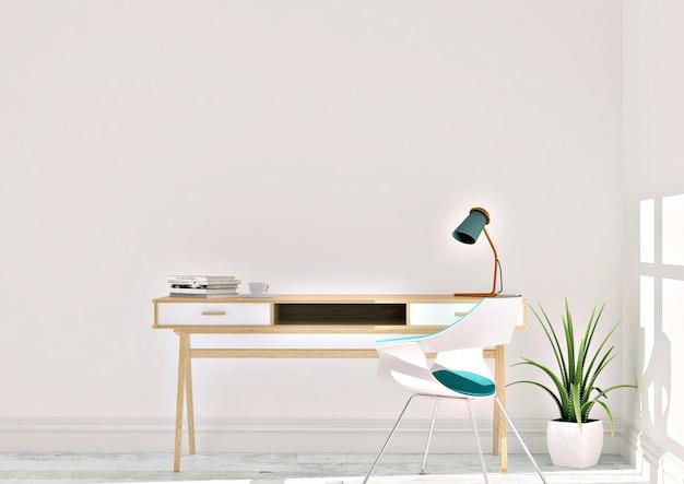 Mesa con lampara