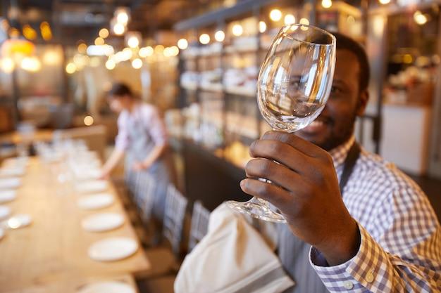 Mesa de servicio para camareros para banquetes