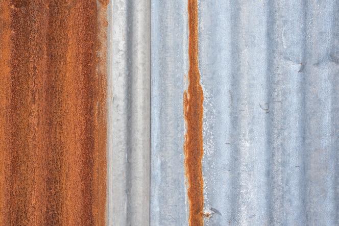 Metáfora de metal o acero pared zinc textura abstracto textura superficie fondo uso para el fondo