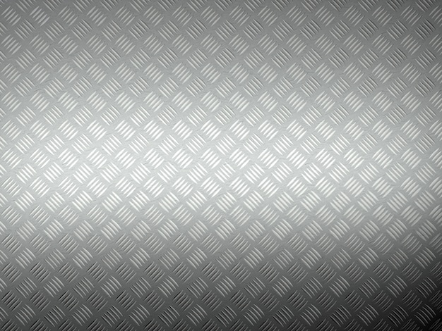 Metal diamont plate 3d