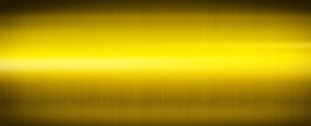 Metal dorado cepillado. fondo de pantalla de textura de fondo de banner