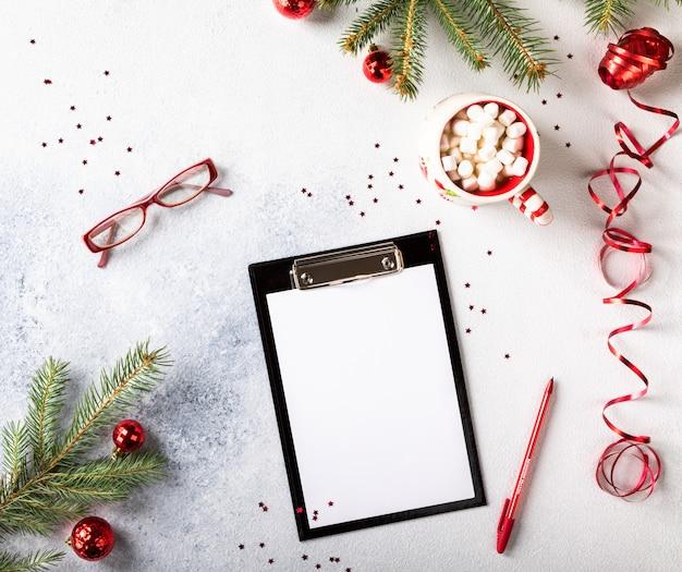 Metas de año nuevo, planes, acción. conceptos de motivación empresarial.