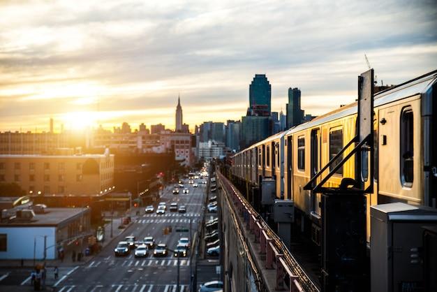 Metro en nueva york