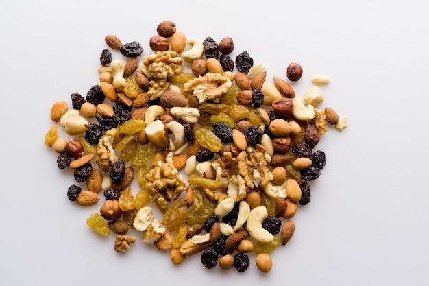 Mezcla de frutos secos y frutos secos