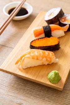 Mezclar sushi set