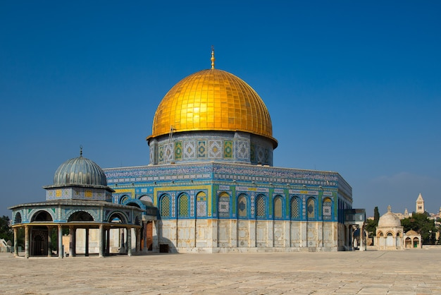 Mezquita cúpula de la roca