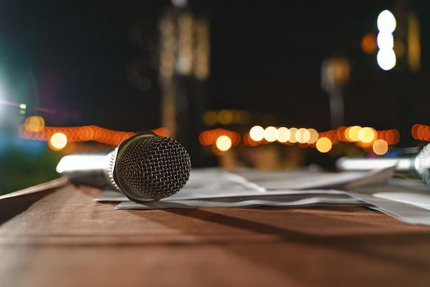 Micrófono de evento inalámbrico