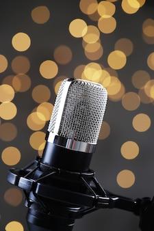 Micrófono moderno