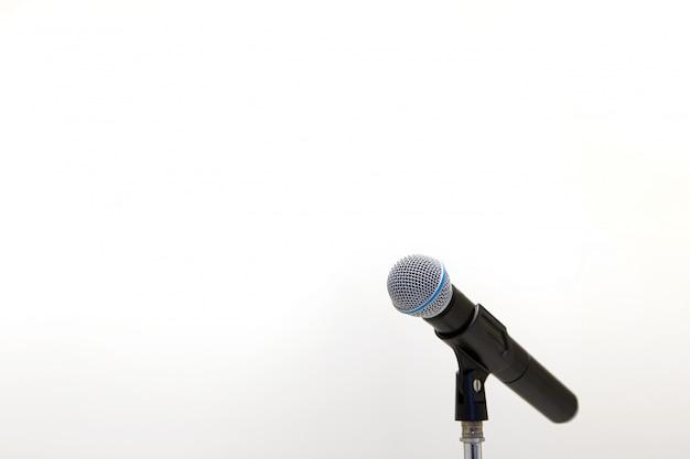 Micrófono en el stand
