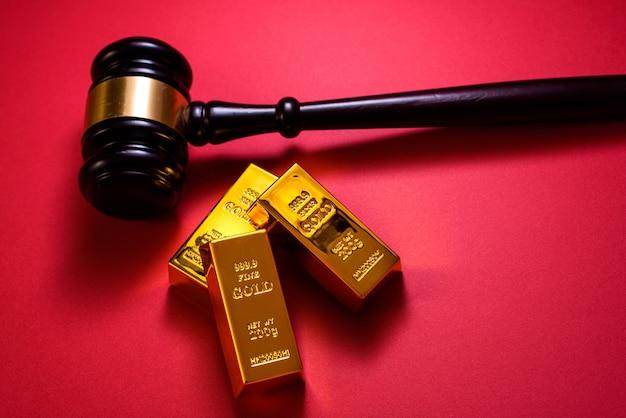 La minería de oro tendrá problemas legales que se resolverán en los tribunales.