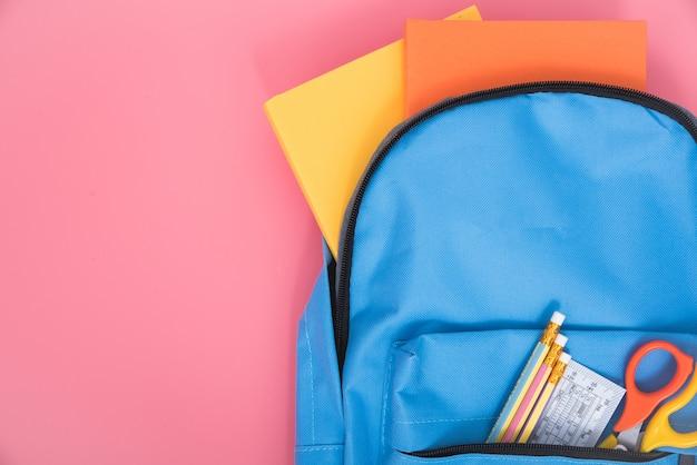 Mochila azul para escolares