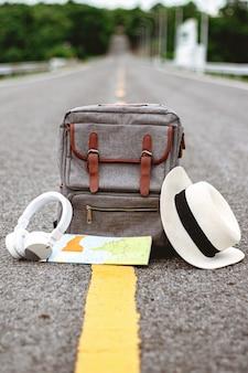 Mochila y complementos para viajar