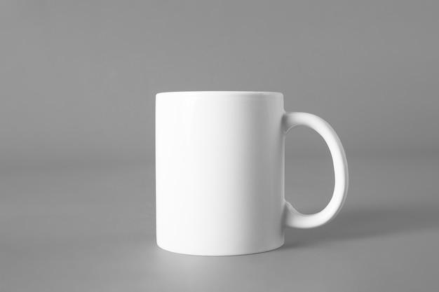 Mockup de taza en blanco