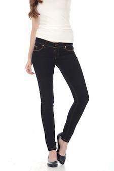 Moda mujer con jeans