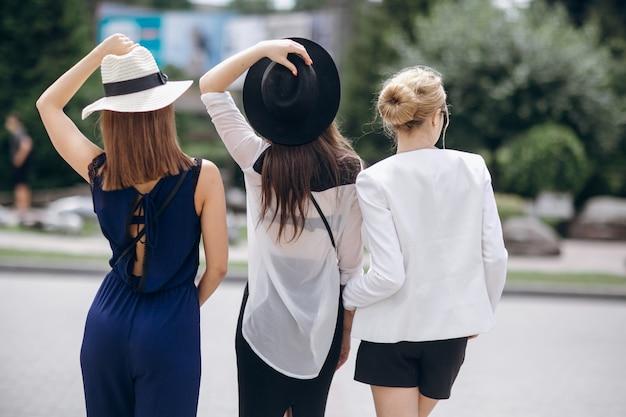 Moda, personas, accesorios, retro, mujeres