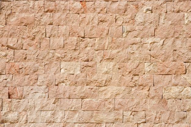 Modelo de la pared de ladrillo de color naranja