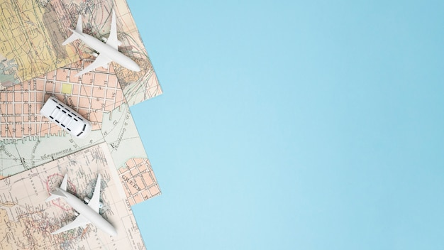 Modelos de vehículos en mapas.