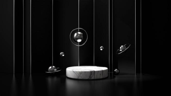 Moderno podio minimalista.