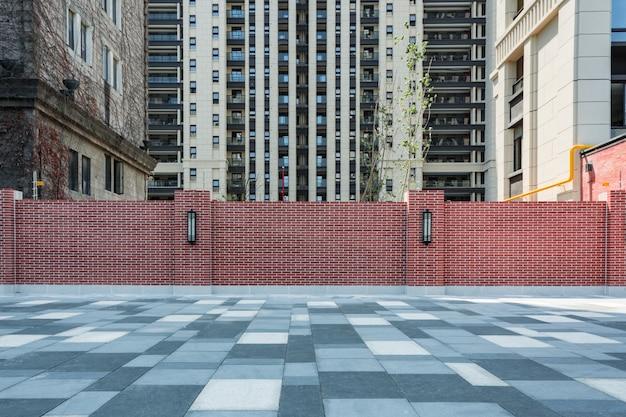 Modernos bloques de construcción de apartamentos encofrado
