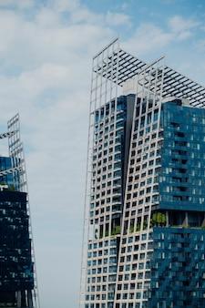 Modernos edificios de oficinas