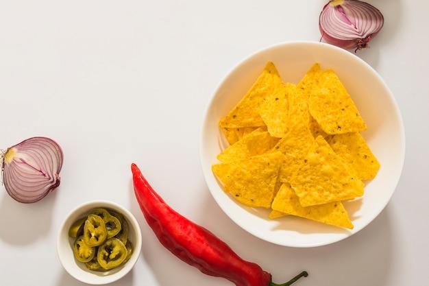 Mojando nachos