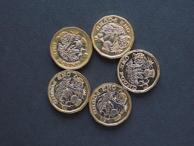 Moneda de 1 libra, reino unido