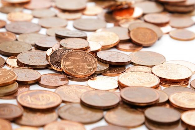 Monedas de céntimo de euro