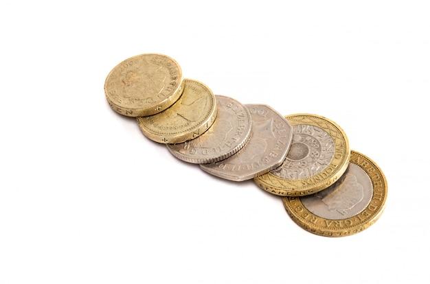 Monedas de gran bretaña