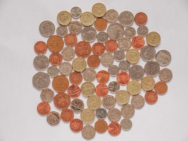 Monedas de libra, reino unido