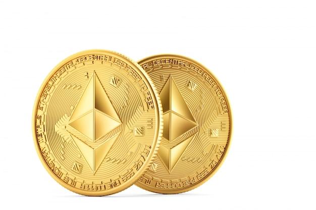 Monedas de oro ethereum