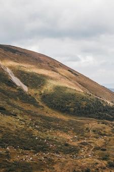 Montañas de los cárpatos. ver en la montaña hoverla.