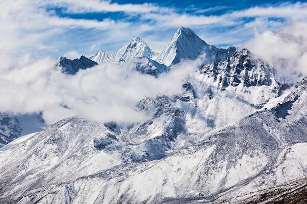 Montañas, región del everest