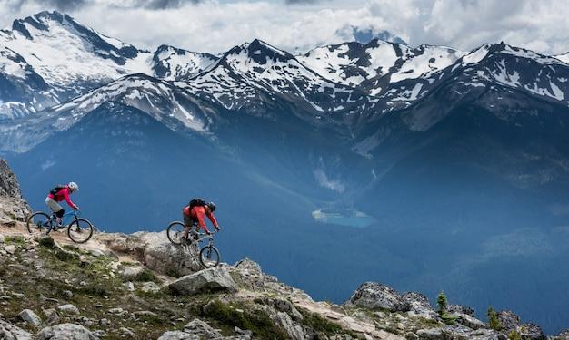 Montañas whistler, columbia británica, canadá