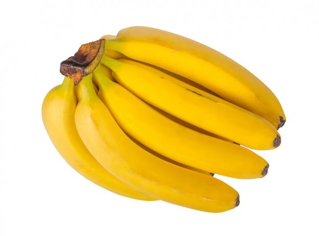 Montón de plátanos aislado