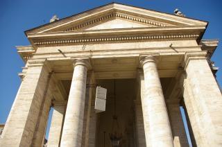 Monumento de italia roma, viajes, pilares