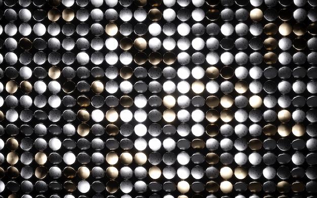 Mosaico círculo brillante
