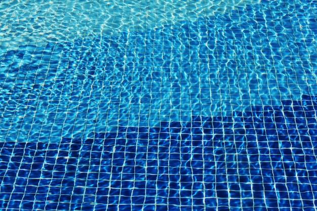Mosaico de la piscina