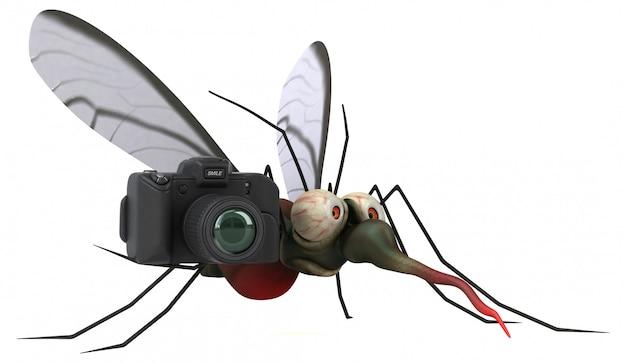 Mosquito con cámara