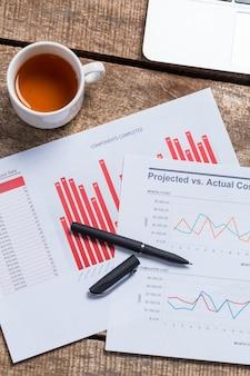 Mostrando informe comercial y financiero.