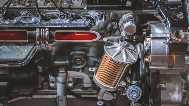 Motor automotriz y piezas