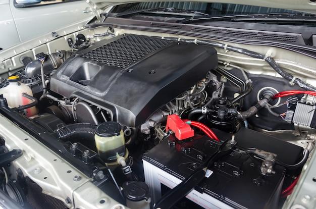 Motor de coche mecánico