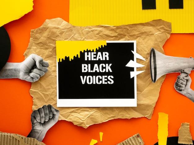 El movimiento de la materia de las vidas negras