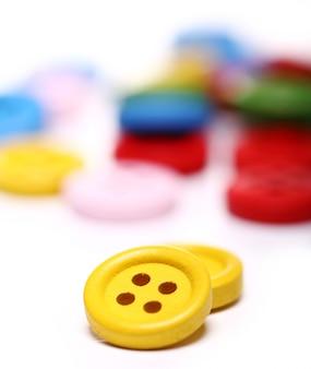 Muchos botones de colores