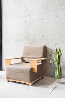 Muebles de decoración contemporánea sofá de la vendimia